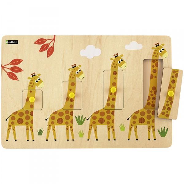 Giraffo Größen-Puzzle