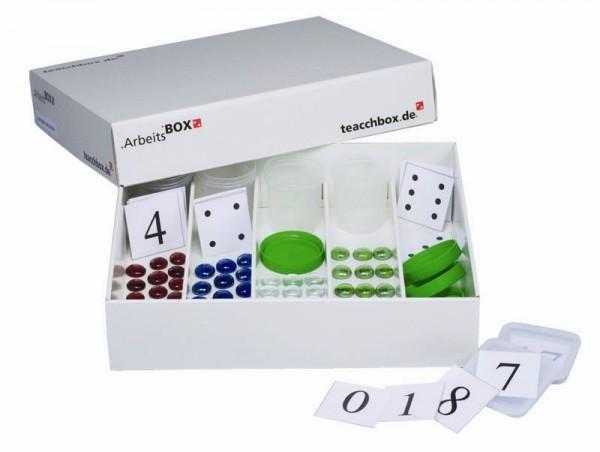 TEACCHBOX Arbeitsbox Zählen und Sortieren 1