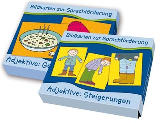 Bildkarten zur Sprachförderung: Paket Adjektive - bei ARIADNE