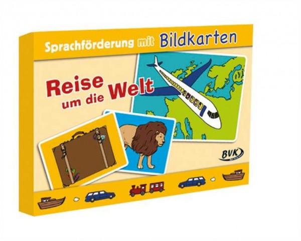 Sprachförderung mit Bildkarten: Reise um die Welt