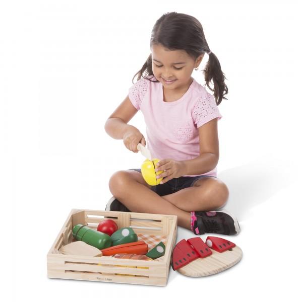 Große Lebensmittel-Kiste