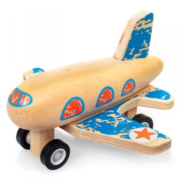Aufzieh-Flugzeug