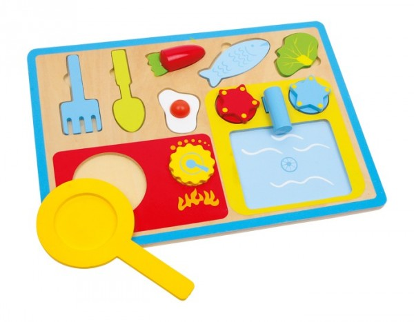 Puzzle Frühstückset