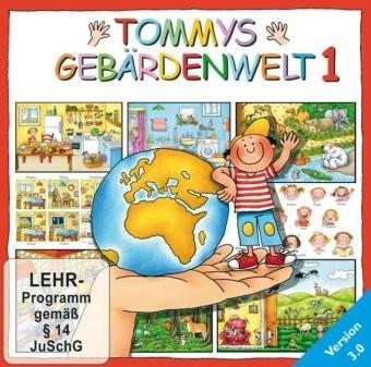 Kestner: Tommys Gebärdenwelt 1 – CD-RROM