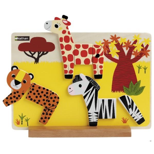 Savanna Fun Aufstell-Puzzle Magnetbord