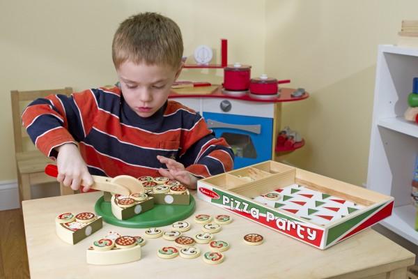 Mamma Mia! Pizza-Set Holz