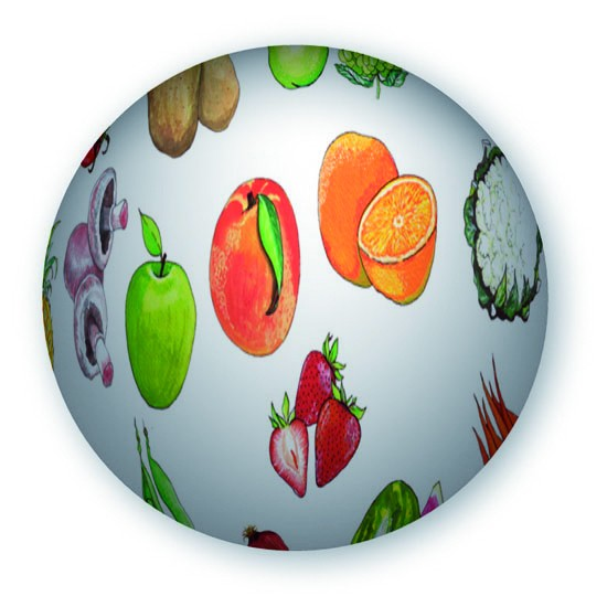 Wörterball Obst & Gemüse