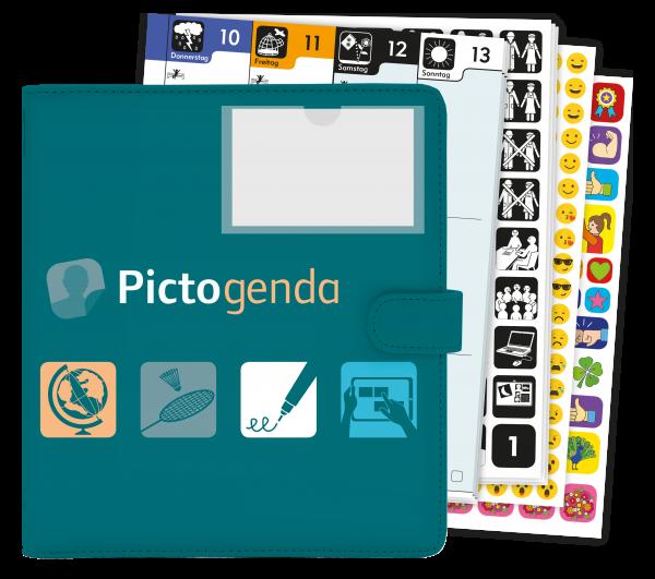 Pictogenda - ein Kalender ohne Worte 2020