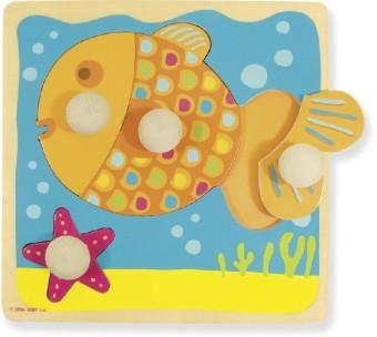 Holzpuzzle Fisch