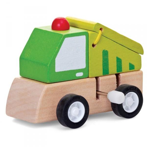 Aufzieh-Lastwagen
