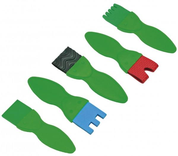 Strukturpinsel-Set Flato