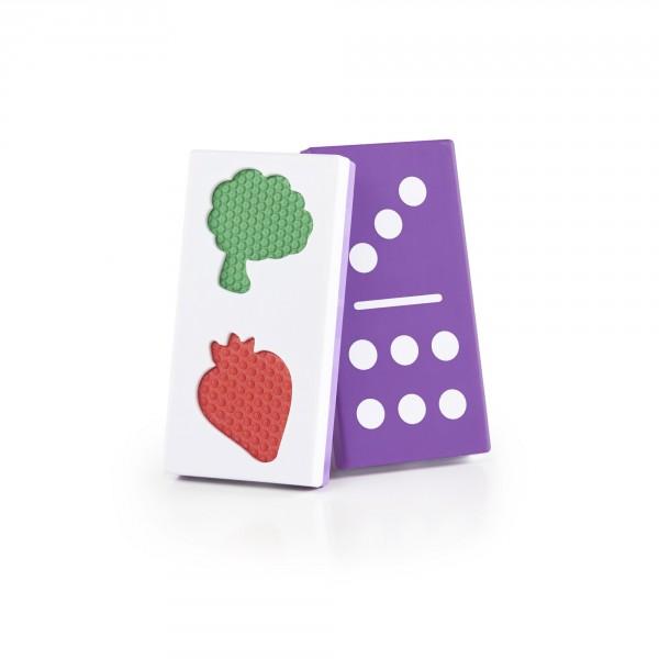 Taktiles Lebensmittel-Domino