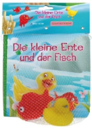Die kleine Ente und der Fisch