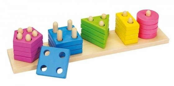 Colosort Farben- und Formen Sortierspiel