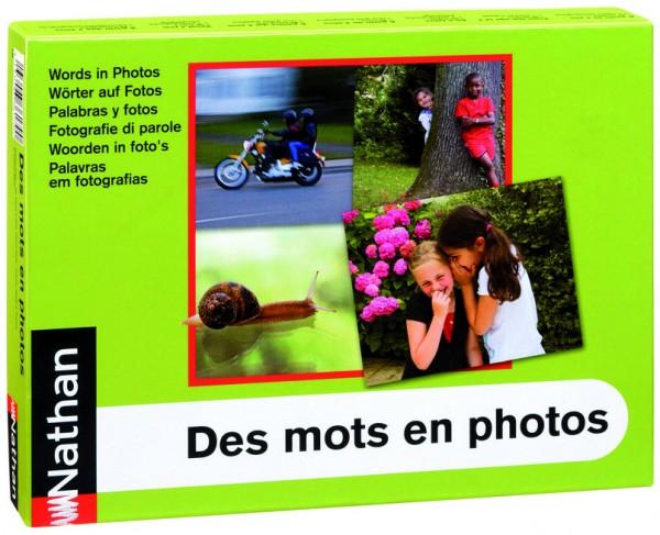 Wörter auf Fotos – Box mit 96 Bildkarten