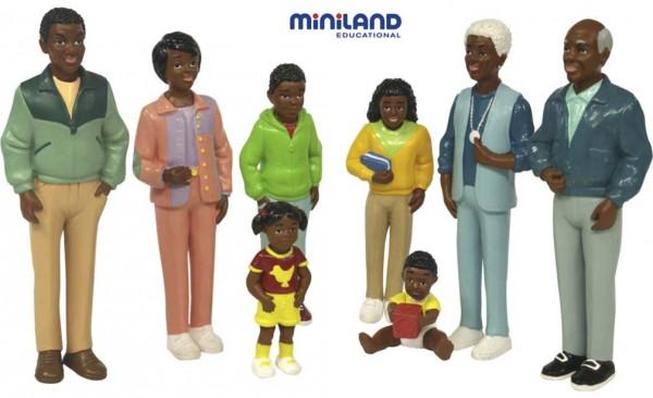 Spielfiguren Afrikanische Familie