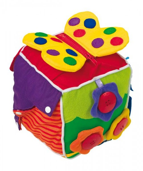 Feinmotorik-Würfel Cubis