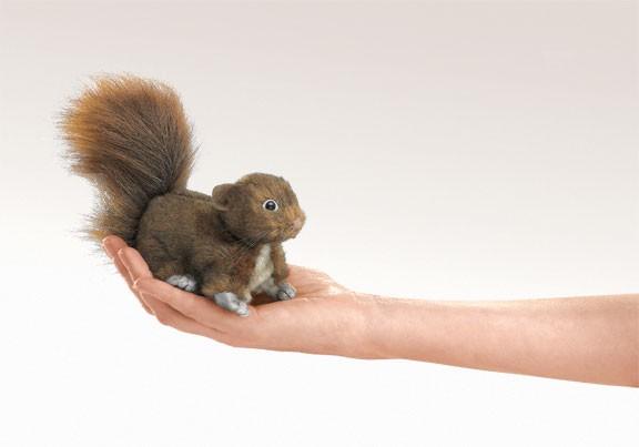 Mini-Eichhörnchen braun