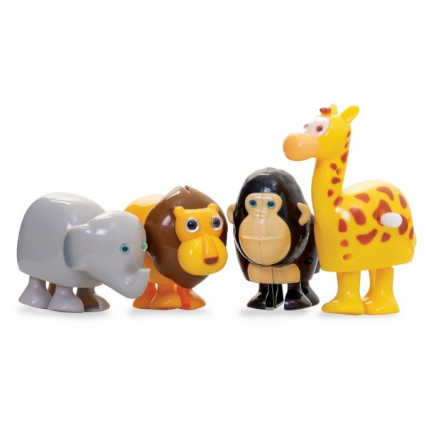 Wilde Tierfamilie