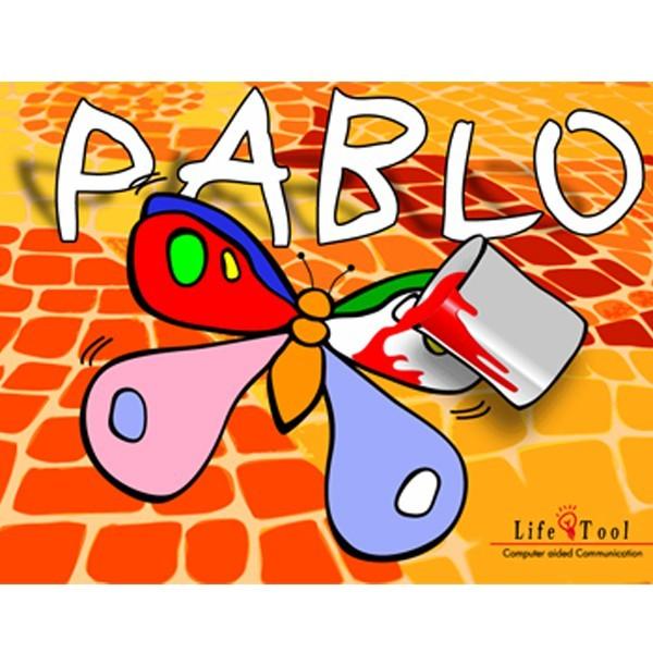 Pablo - das Malbuch mit Scanning