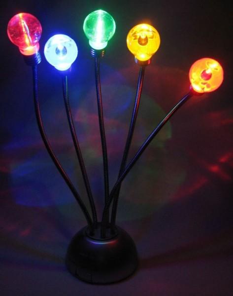 Luxaunda – Die Lampe, die auf Geräusche reagiert