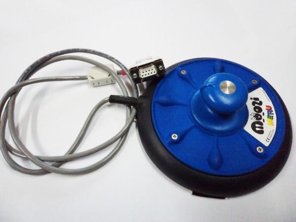 Moozi Niedrigprofil-Joystick blau