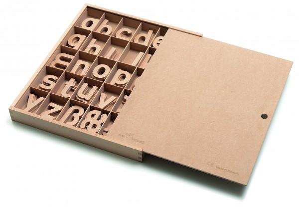Holzbuchstaben-Megaset