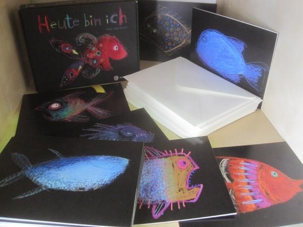 Van Hout: Heute bin ich - Kunstkarten Set