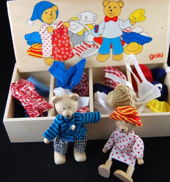 Bärchens Anzieh-Kiste