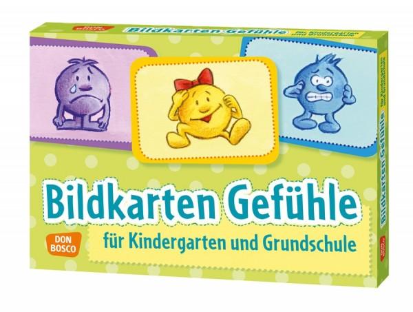 Bildkarten Gefühle für Kindergarten und Grundschule